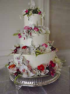 Vase Separated Wedding Cake Pictures 67