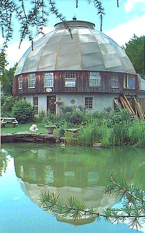 Translucent Dome Solar Attic Green Roof Eco System